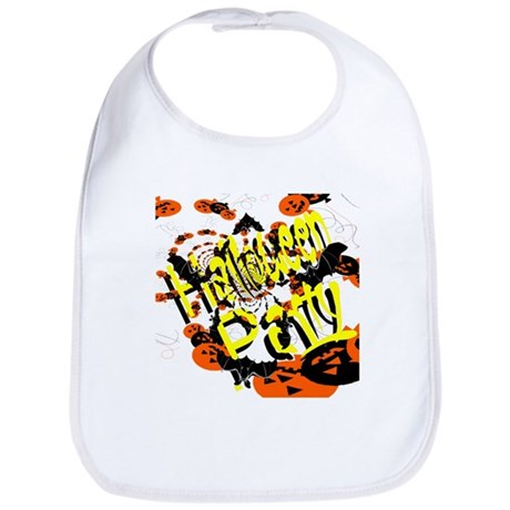 Halloween Party II Bib
