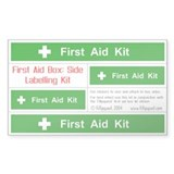 First Aid Box Side Labelling Kit