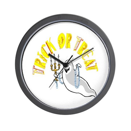 Prankster Ghost Wall Clock