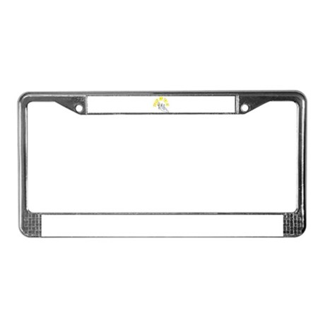 Prankster Ghost License Plate Frame