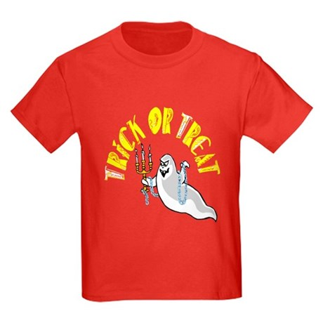 Prankster Ghost Kids Dark T-Shirt