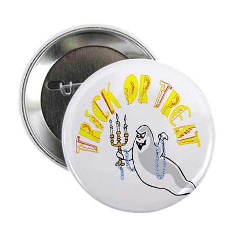 "Prankster Ghost 2.25"" Button (100 pack)"