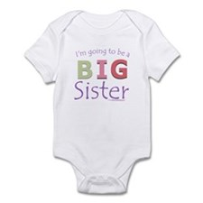 I'm going to be a Big Sister Onesie