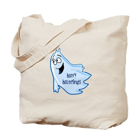 Happy Hauntings Tote Bag
