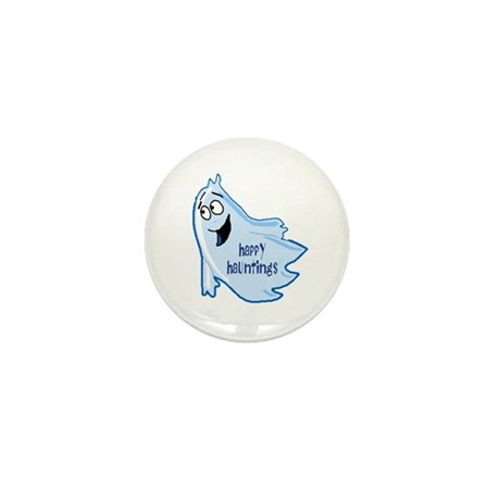 Happy Hauntings Mini Button