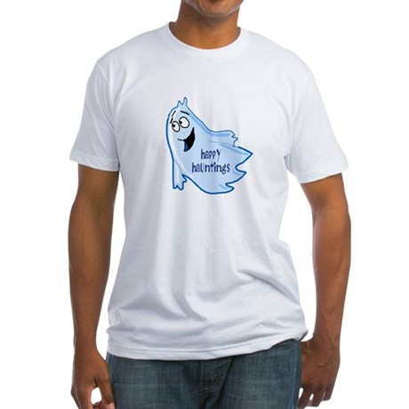 Happy Hauntings Fitted T-Shirt
