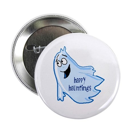 Happy Hauntings Button