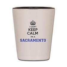 Cute Sacramento Shot Glass