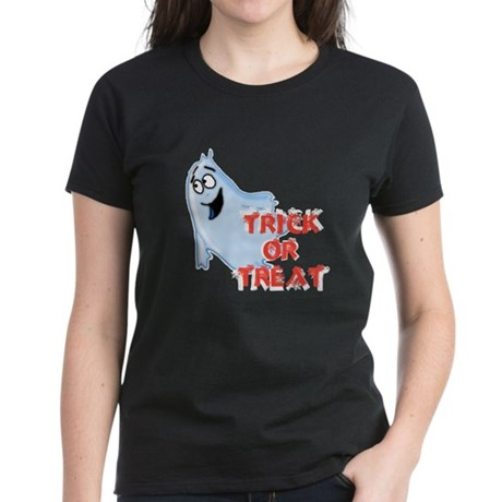 Trick or Treat Women's Dark T-Shirt