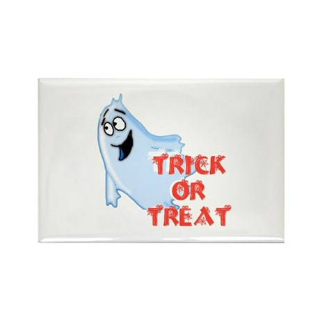 Trick or Treat Rectangle Magnet (10 pack)