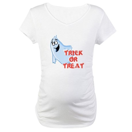Trick or Treat Maternity T-Shirt