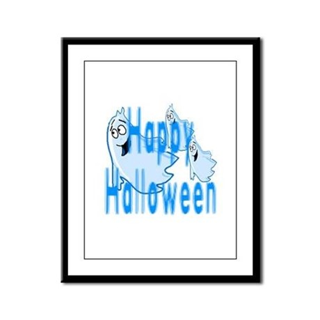 Happy Halloween Framed Panel Print