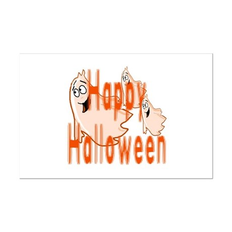 Happy Halloween Mini Poster Print