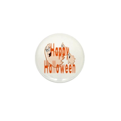 Happy Halloween Mini Button (10 pack)