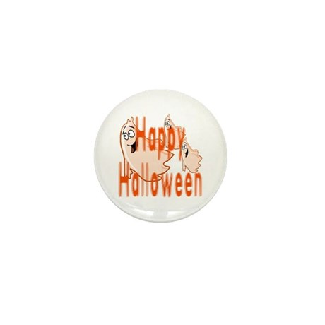 Happy Halloween Mini Button