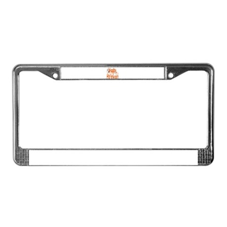 Happy Halloween License Plate Frame