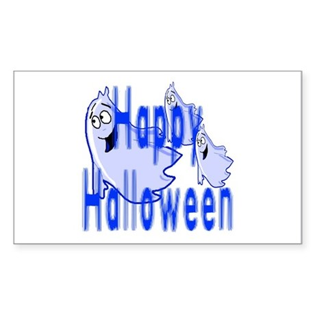 Happy Halloween Rectangle Sticker