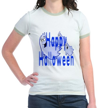 Happy Halloween Jr. Ringer T-Shirt