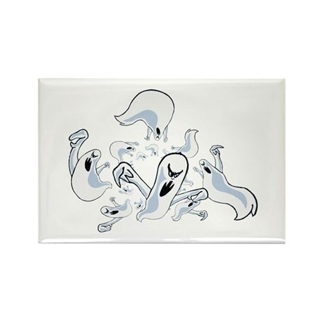 Ghosts Rectangle Magnet (100 pack)