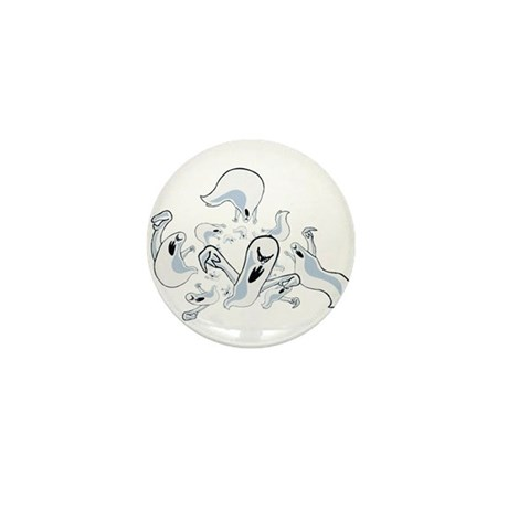 Ghosts Mini Button (100 pack)