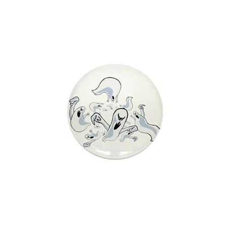 Ghosts Mini Button