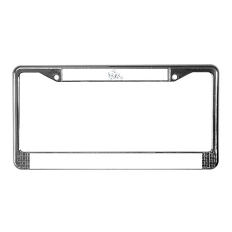 Ghosts License Plate Frame