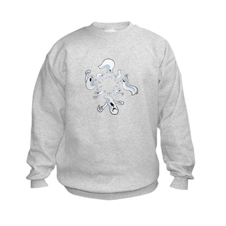 Ghosts Kids Sweatshirt