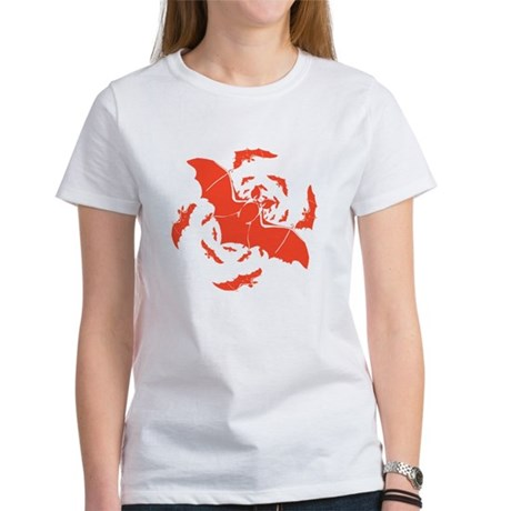 Orange Bats Women's T-Shirt