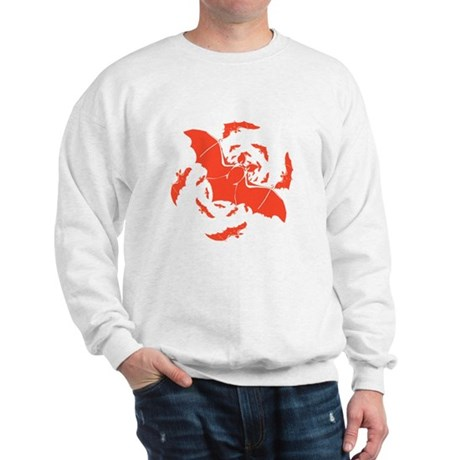 Orange Bats Sweatshirt