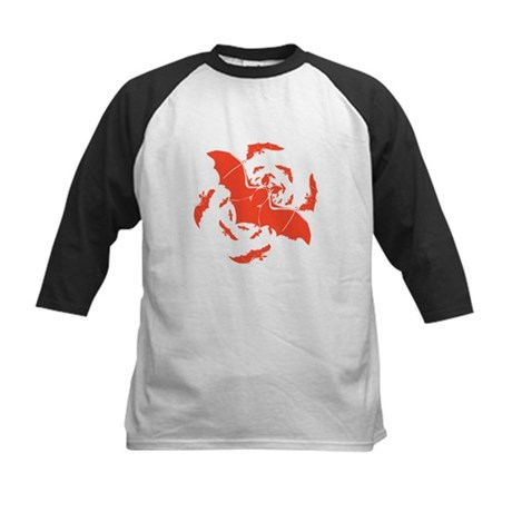 Orange Bats Kids Baseball Jersey
