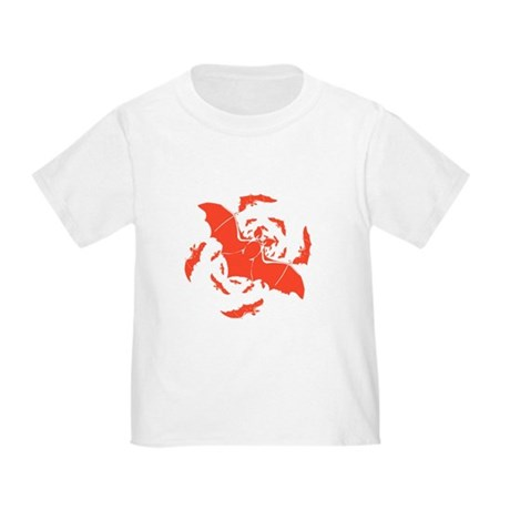 Orange Bats Toddler T-Shirt