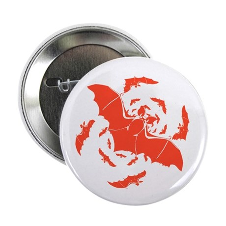 "Orange Bats 2.25"" Button (100 pack)"
