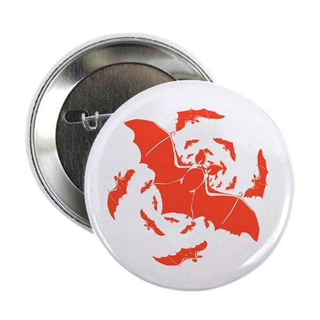 Orange Bats Button