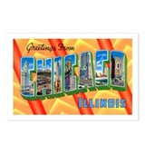 Chicago Illinois Greetings Postcards (Package of 8