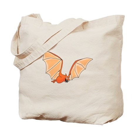 Flying Bat Tote Bag