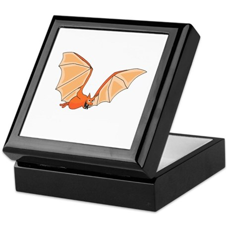 Flying Bat Keepsake Box