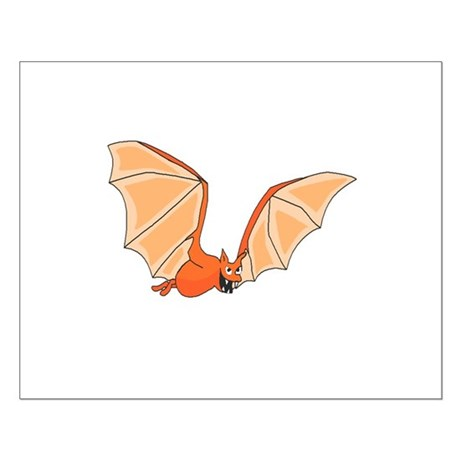 Flying Bat Small Poster