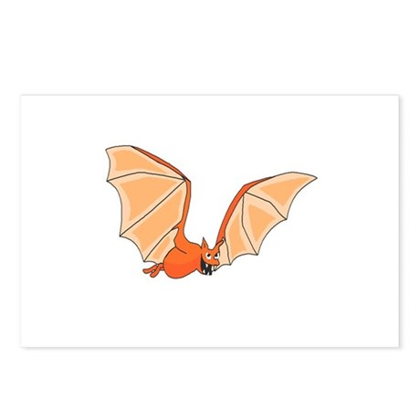 Flying Bat Postcards (Package of 8)