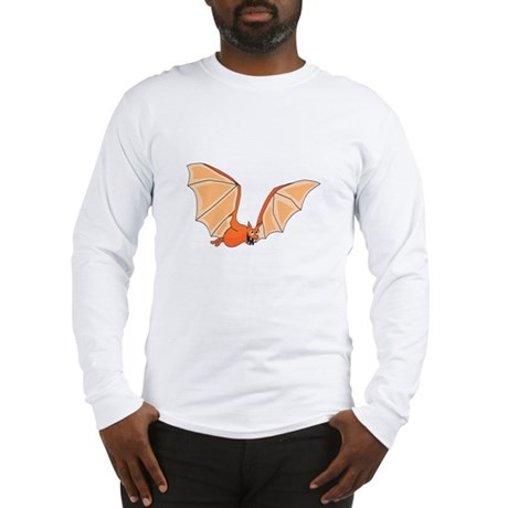 Flying Bat Long Sleeve T-Shirt