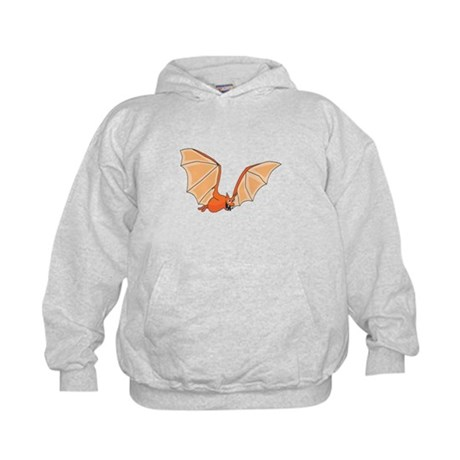 Flying Bat Kids Hoodie
