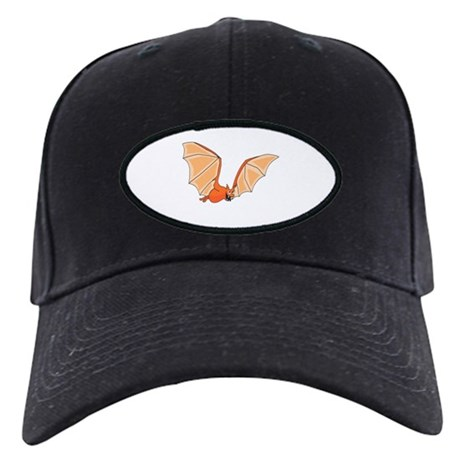 Flying Bat Black Cap