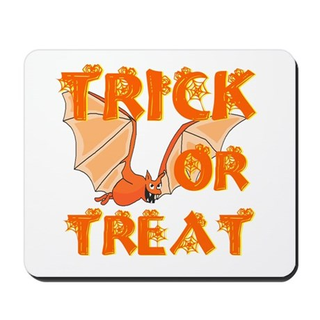 Trick or Treat Bat Mousepad