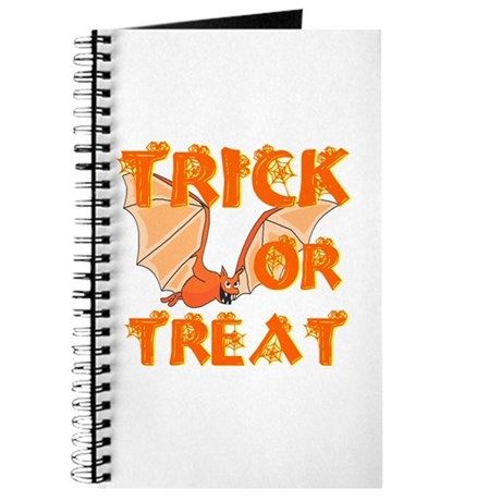 Trick or Treat Bat Journal