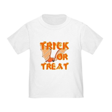 Trick or Treat Bat Toddler T-Shirt