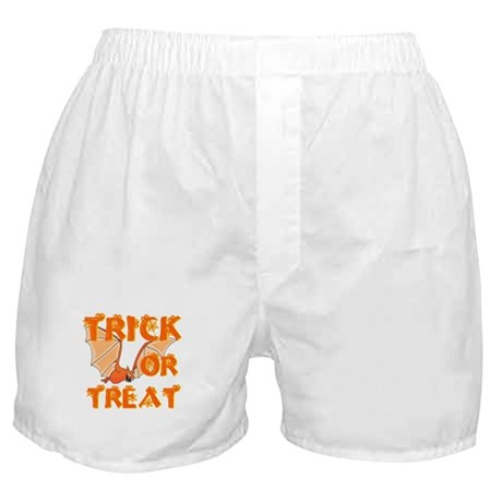 Trick or Treat Bat Boxer Shorts