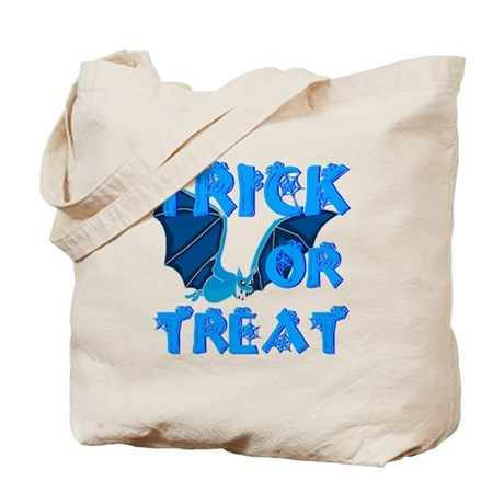 Trick or Treat Bat Tote Bag