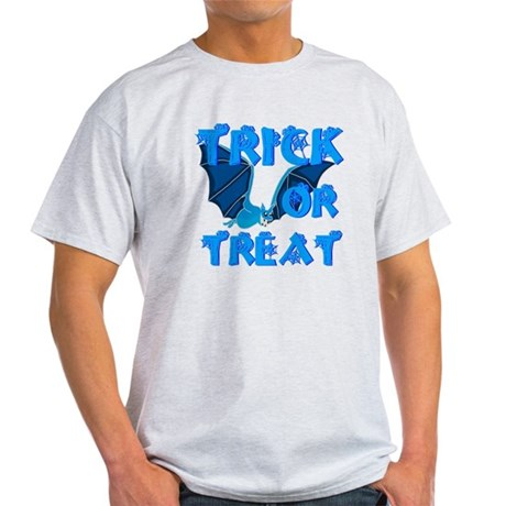 Trick or Treat Bat Light T-Shirt