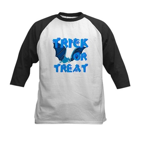 Trick or Treat Bat Kids Baseball Jersey