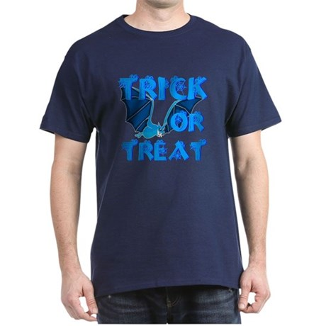 Trick or Treat Bat Dark T-Shirt