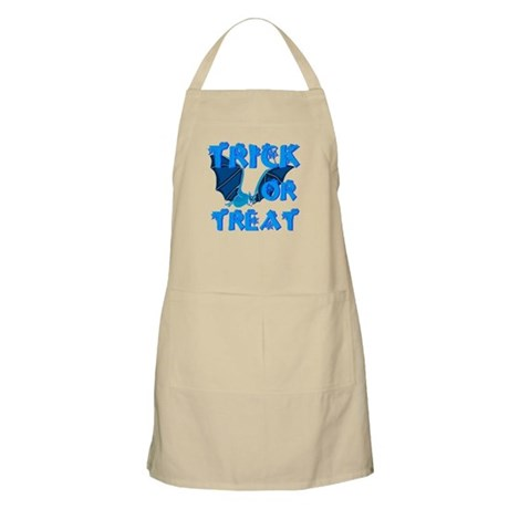 Trick or Treat Bat BBQ Apron